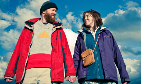 Brutally unsettling … Steve Oram and Alice Lowe in Sightseers
